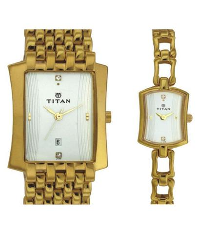 Titan Bandhan Couple Watches