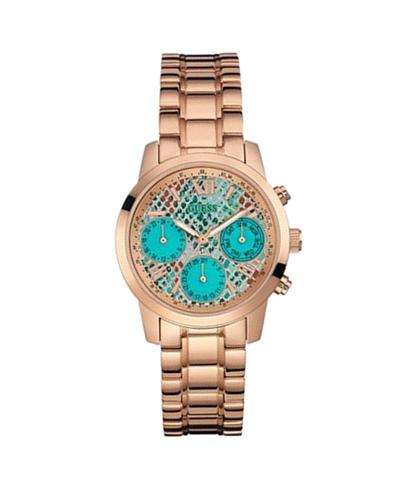 Guess Turquoise Chronograph Party-Wedding Women's Watch