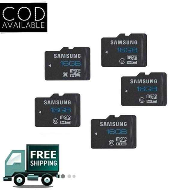 Samsung Micro SD 16GB Combo of 5