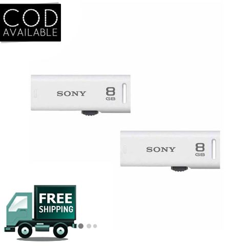 Sony Classic 8 GB White Pen Drive Combo of 2