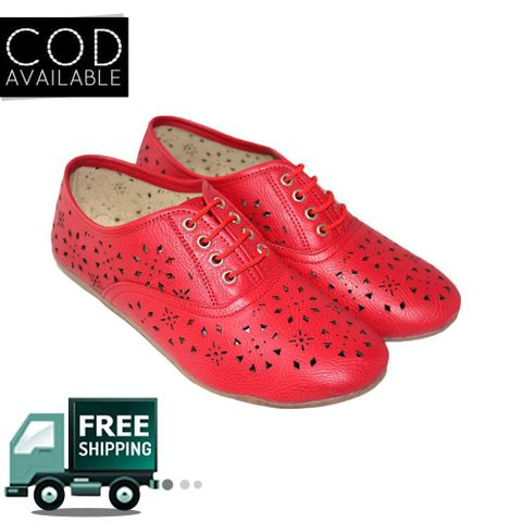 Red Women Casual Shoes