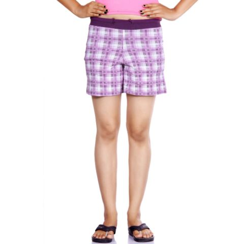 Happy Hours Cotton Spandex Women's Shorts