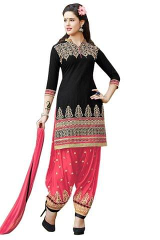 Aashvi Creation Women's Cotton Unstitched Salwar Suit Dress Material