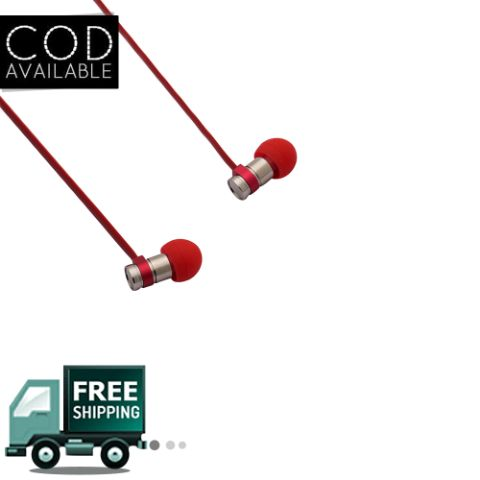 Remax Rm-565 Earphone Red