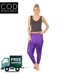 SLS Purple Cotton Lycra Regular Fit Women's Dhoti