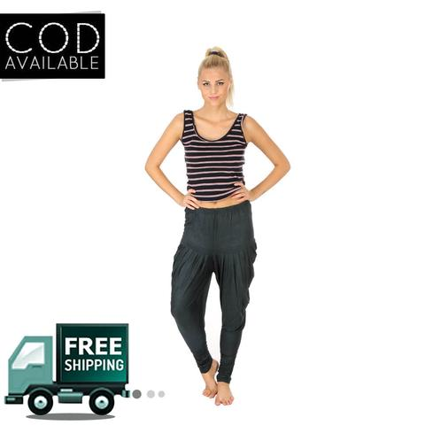 SLS Dark Green Cotton Lycra Regular Fit Women's Dhoti