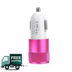 Metal Box MBCC25 Pink Car Charger