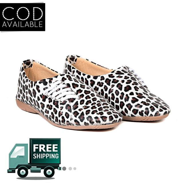 Ten Women's Black & White Synthetic Leather Shoes