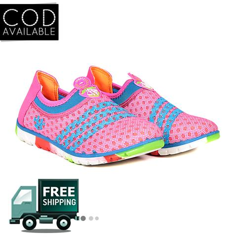 Ten Women's Pink & Blue Fabric Casual Shoes