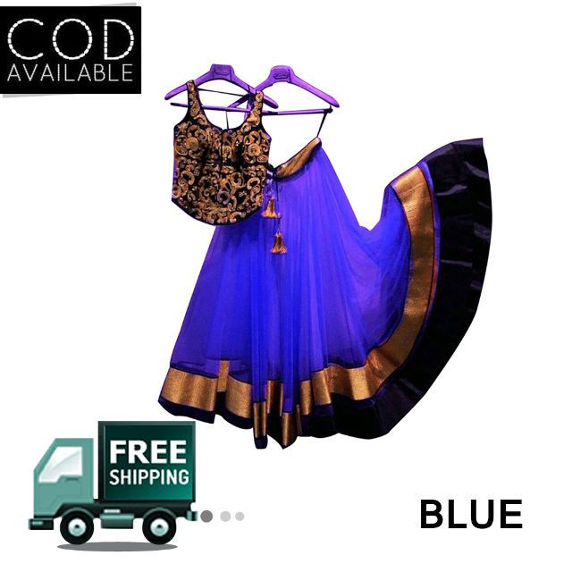 Sellective Designer Wear Lehenga With Laces