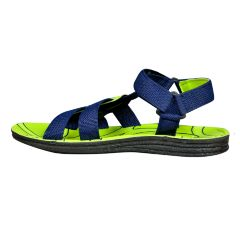 Delux Look Banded Green Floater Sandal