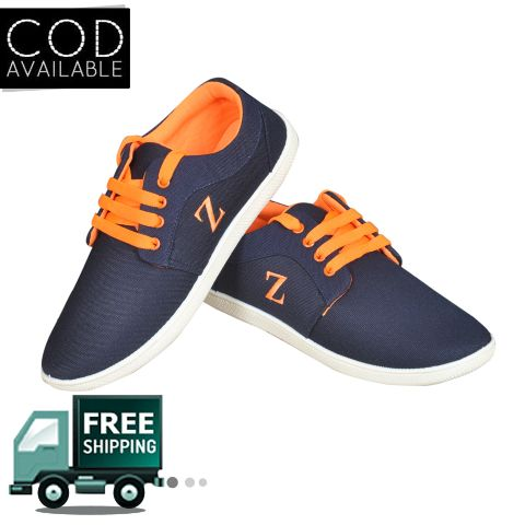 Delux Look Branded Synthetic Leather Casual Shoes