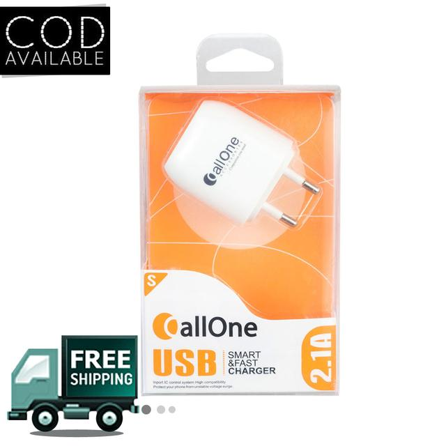 CallOne Travel Charger 2 Hub 2Amp With Micro USB Cable