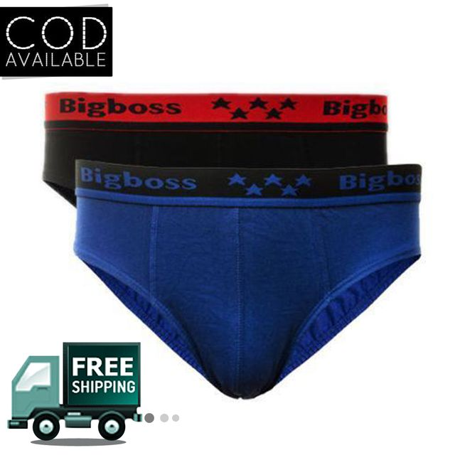 Dollar Bigboss Brief For Men 2Pc Pack Assorted Color