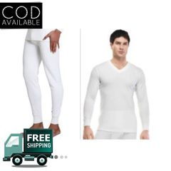 Amul Thermal Wear White(Upper/Lower)Set For Man