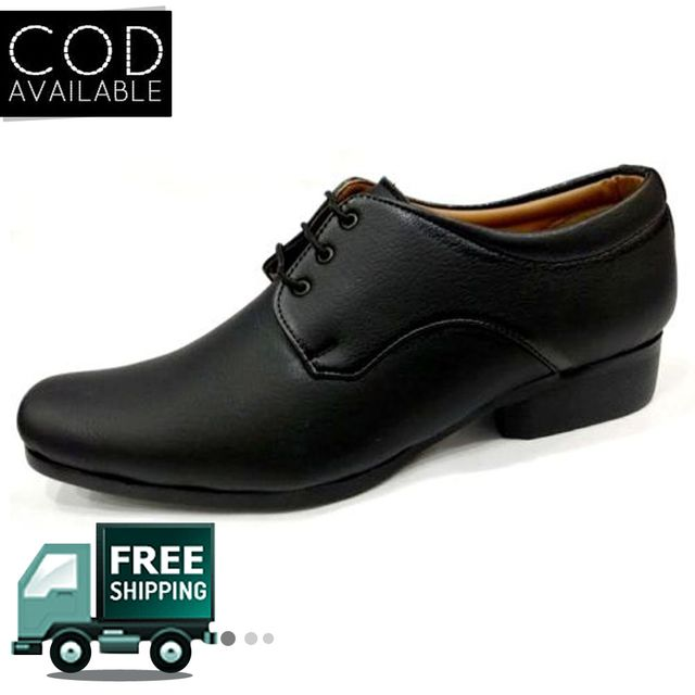 Hazart Black Formal/Casual Shoe For Men