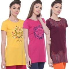 Rose Taylor Women's Long Top(Pack of 3)