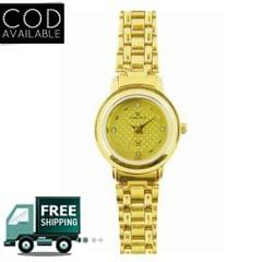 Maxima 07157CMLY Gold Analog Women's Watch
