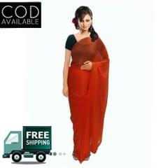 Vamika Plain Lycra saree