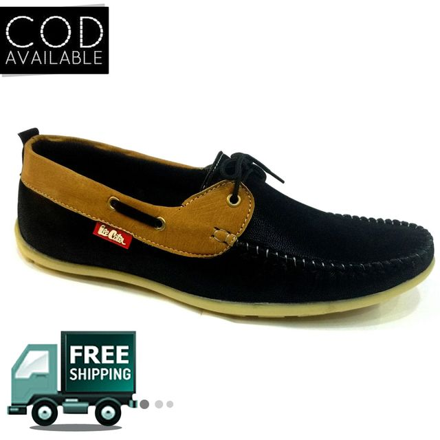 Hazart Men's Stylish Suede Leather Loafer Shoes