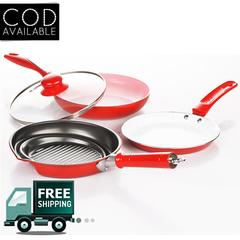 Kawachi Non-Stick Ceramic Coated Color-Changing Pan