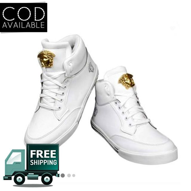 Hazart White Stylish Men's Casual Shoes