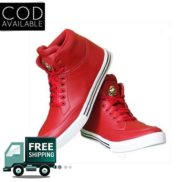 Hazart Red Stylish Men's Casual Shoes