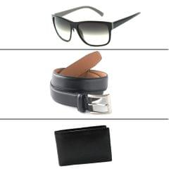 Western Texas Combo Of 3 Men's Accessories