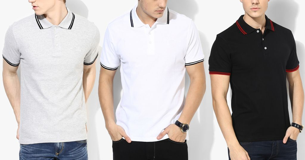 London Looks Polo T-Shirt (Pack Of 3)