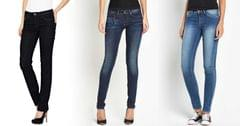London Looks Women's Slim-Fit Denim Jeans (Pack Of 3)