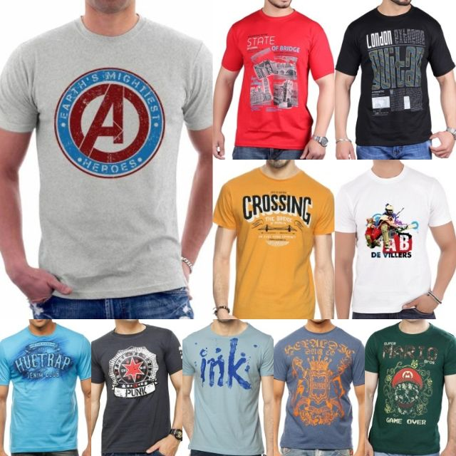 London Looks 10 Stylish Cotton T-Shirts !