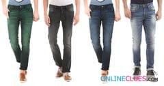 London Looks Brand Men's 4 Combo of Regular-Fit Denim Jeans