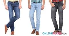 Combo Of 3 London Looks Branded Mid-Rise Regular-Fit Denim Jeans