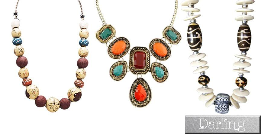 Branded Darling Multicolour Girls Funky Style Necklace Sets !